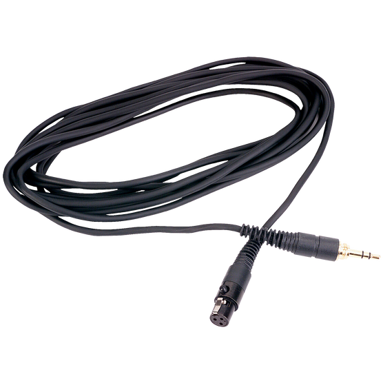 EK300 - Black - Headphone cable - Hero