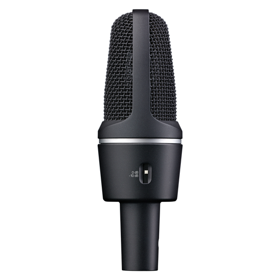 C3000 - Black - High-performance large-diaphragm condenser microphone - Detailshot 1