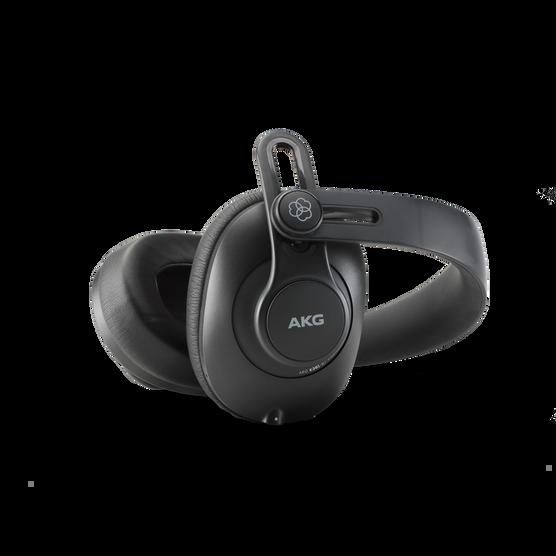 K361-BT - Black - Over-ear, closed-back, foldable studio headphones with Bluetooth - Detailshot 2