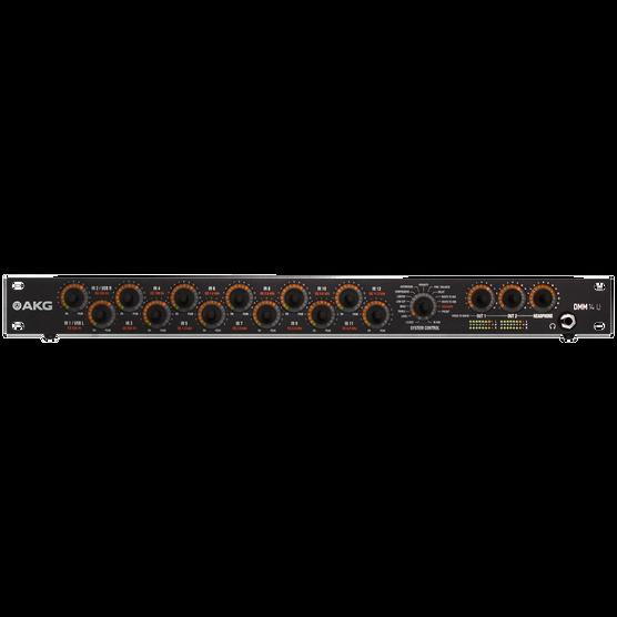 DMM14 U - Black - Reference digital automatic microphone mixer - Hero