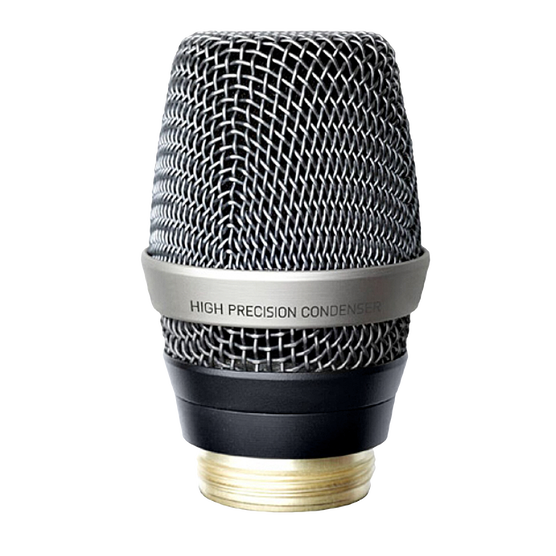 C7 WL1 - Black - Reference condenser vocal microphone head - Hero