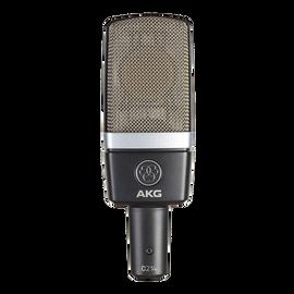 C214 - Black - Professional  large-diaphragm  condenser microphone - Hero