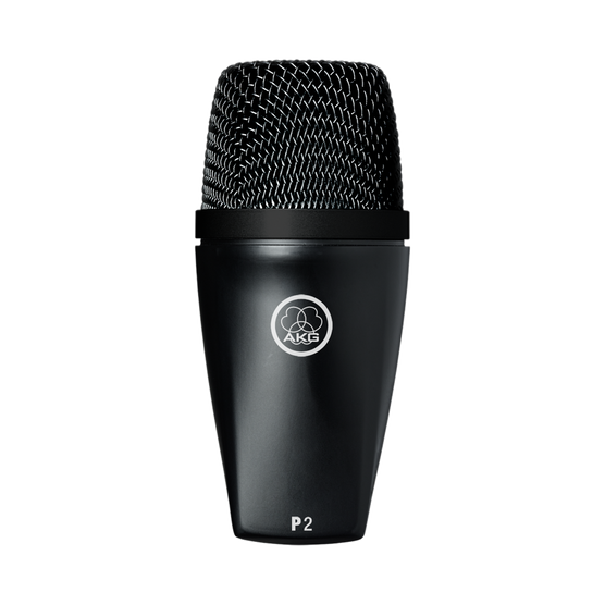 P2 - Black - High-performance dynamic bass microphone - Hero