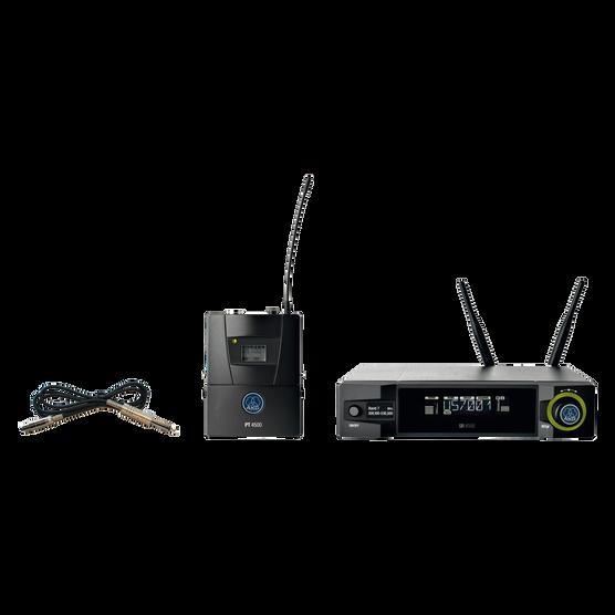 WMS4500 Instrumental Set - Black - Reference wireless microphone system - Hero