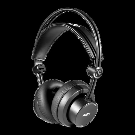 K175 - Black - On-ear, closed-back, foldable studio headphones - Hero