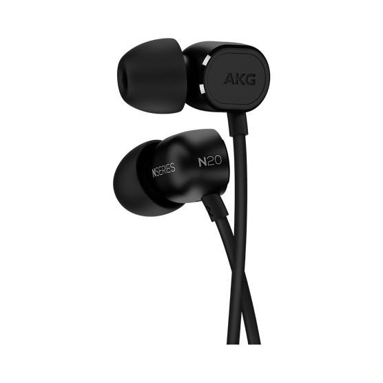 N20U - Black - Reference class in-ear headphones with universal 3 button remote. - Detailshot 2