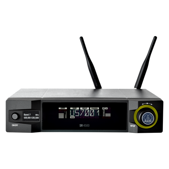 SR4500 Band1 (discontinued) - Black - Reference wireless stationary receiver - Hero