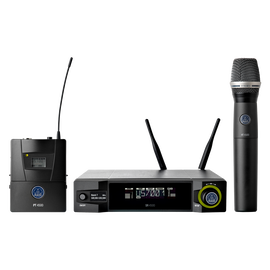 WMS4500 - Black - Reference wireless microphone system - Hero
