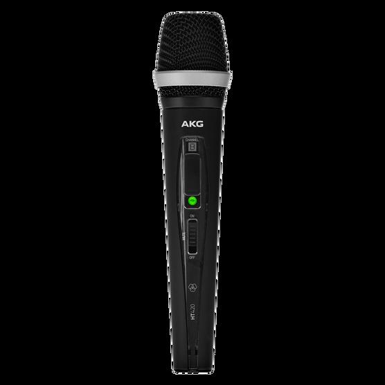 HT420 BandK - Black - Professional wireless handheld transmitter - Hero