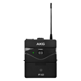 PT420 - Black - Professional wireless body-pack transmitter - Hero