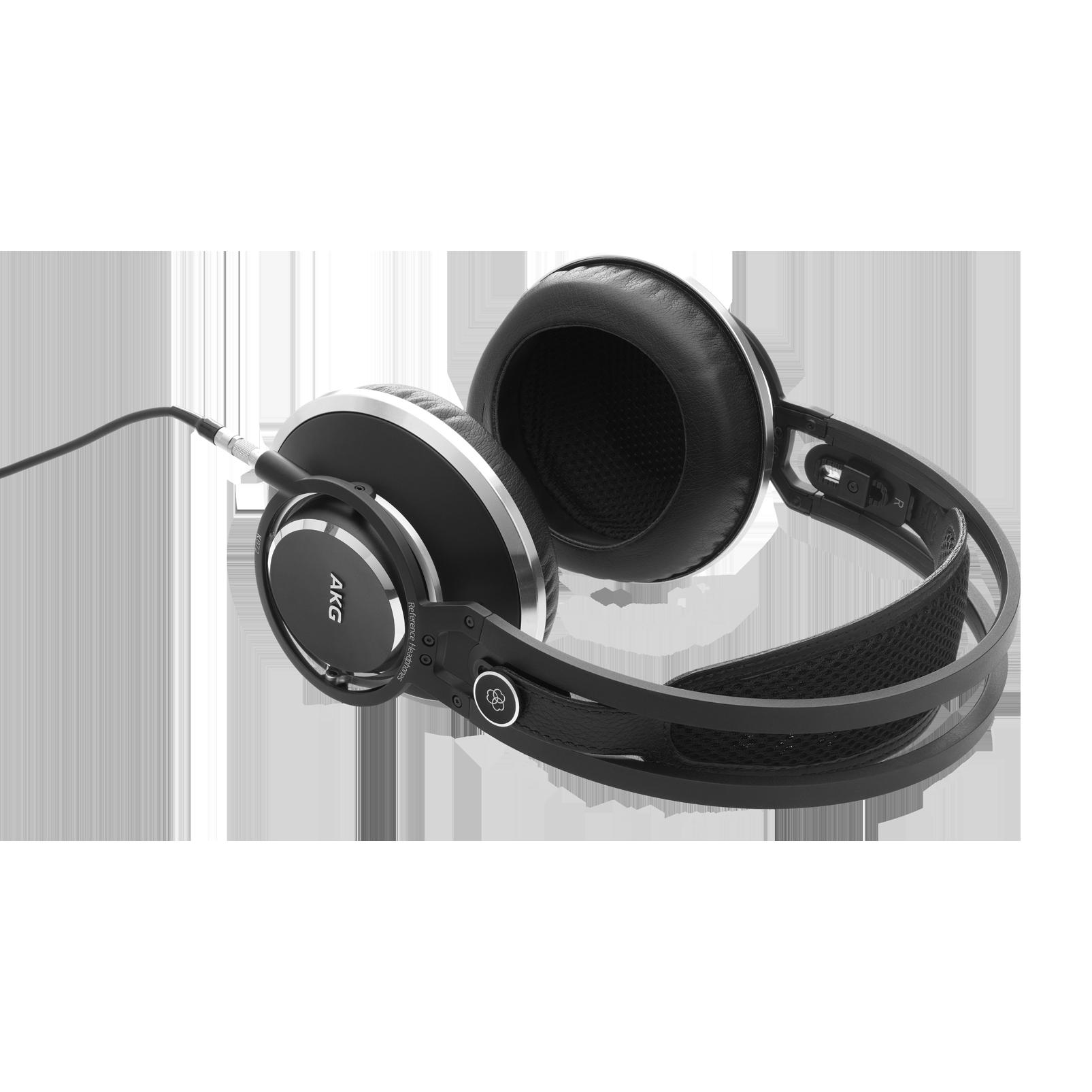 K872 - Black - Master reference closed-back headphones - Detailshot 2