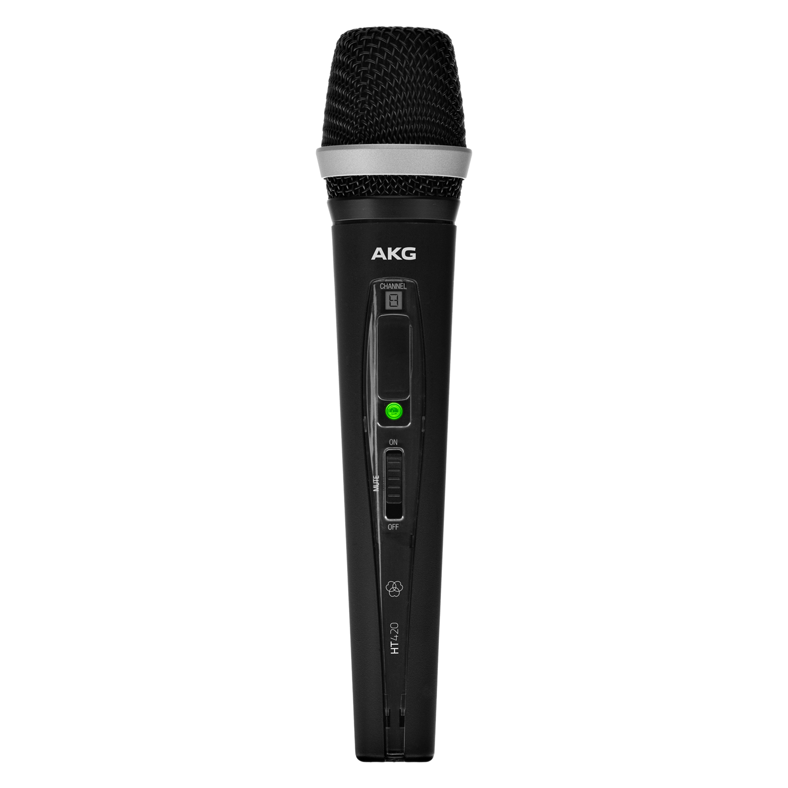 HT420 BandK - Black - Professional wireless handheld transmitter - Hero