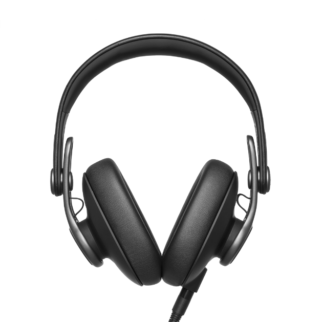 K371 - Black - Over-ear, closed-back, foldable studio headphones  - Detailshot 1