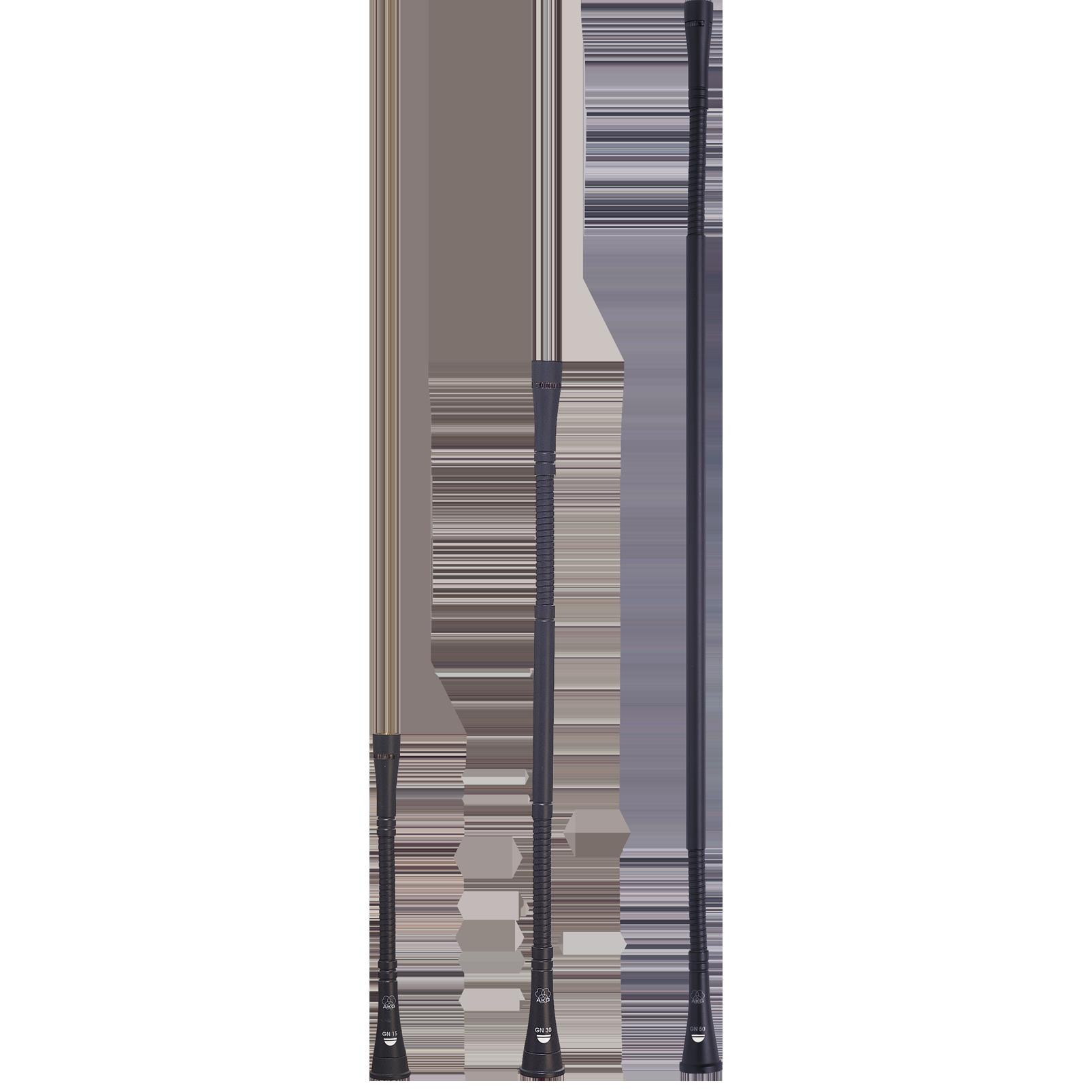 GN50 - Grey - 50cm (20in) High-performance modular gooseneck module - DAM Series - Hero