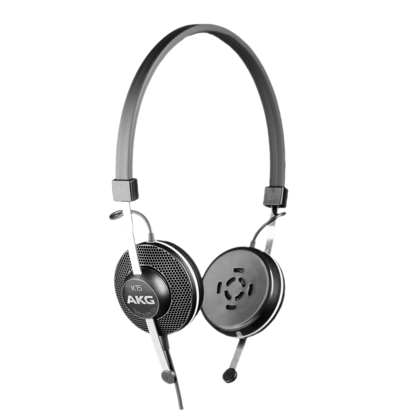K15 - Black - High-performance conference headphones - Hero
