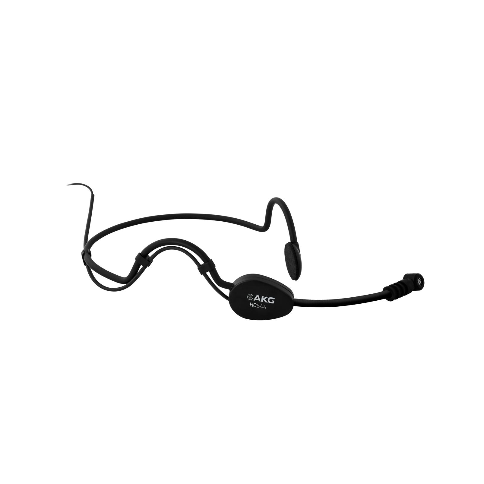 HC644 MD - Black - Head-worn microphone - Hero
