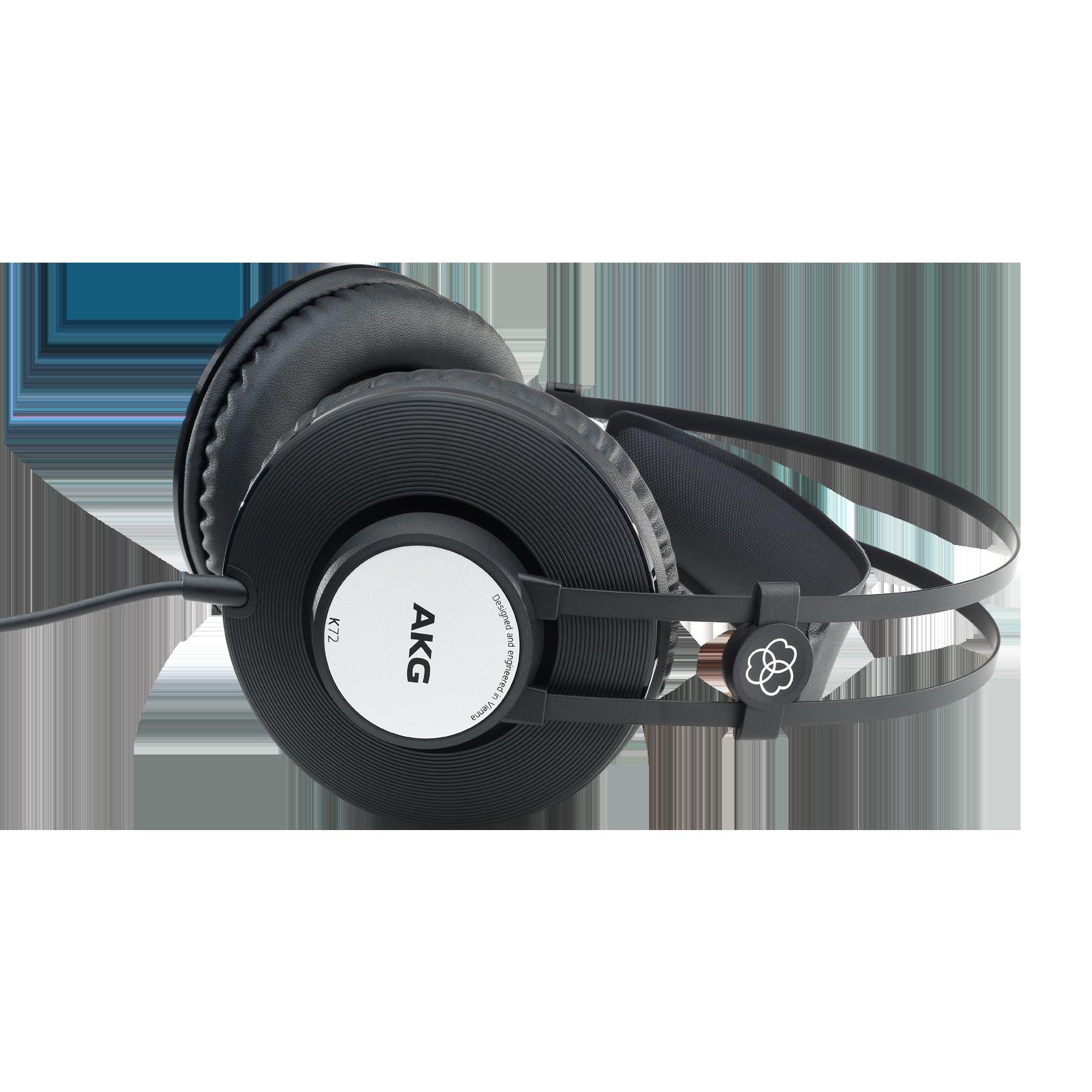 K72 - Black - Closed-back studio headphones - Detailshot 3