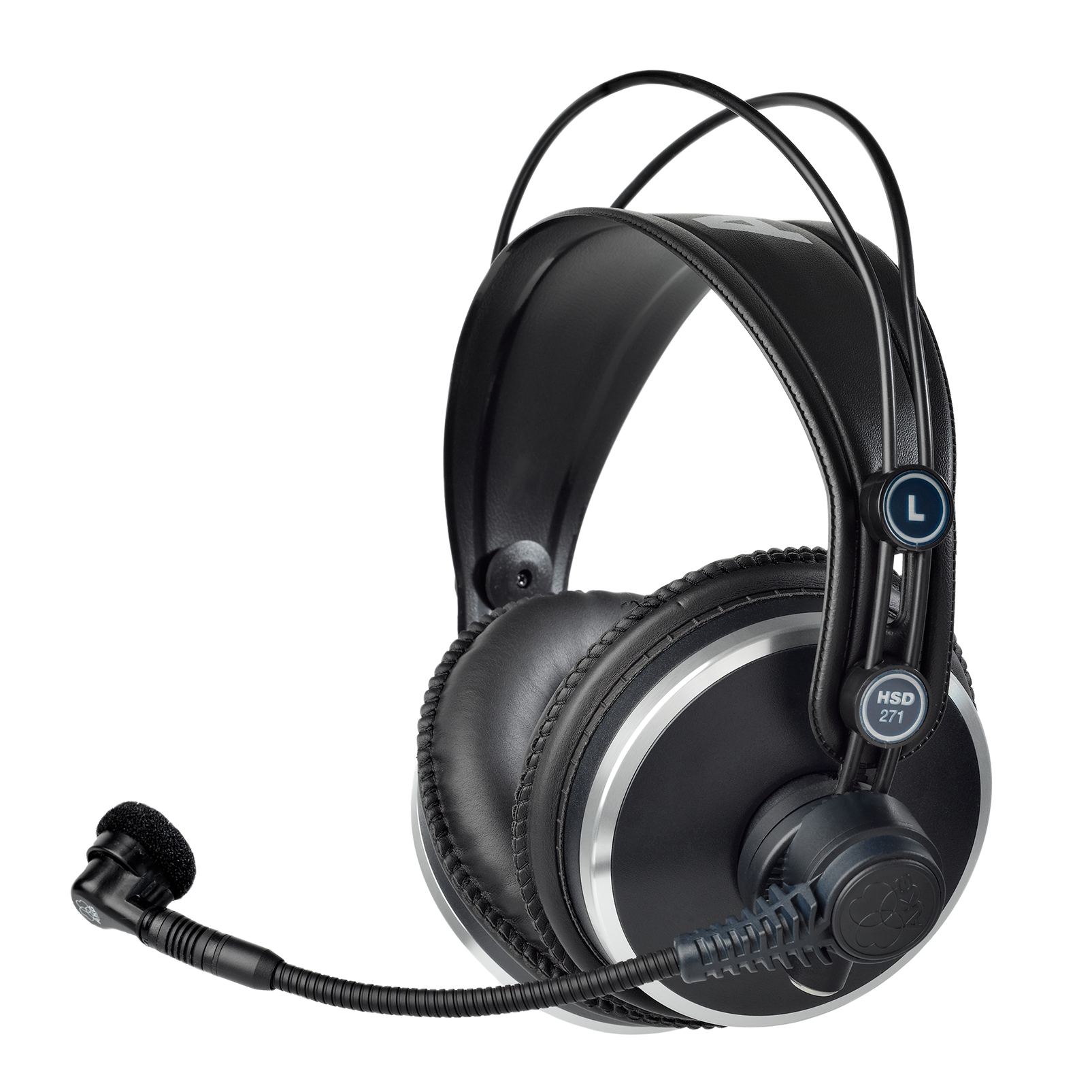 HSD271 - Black - Professional over-ear headset with dynamic microphone - Hero