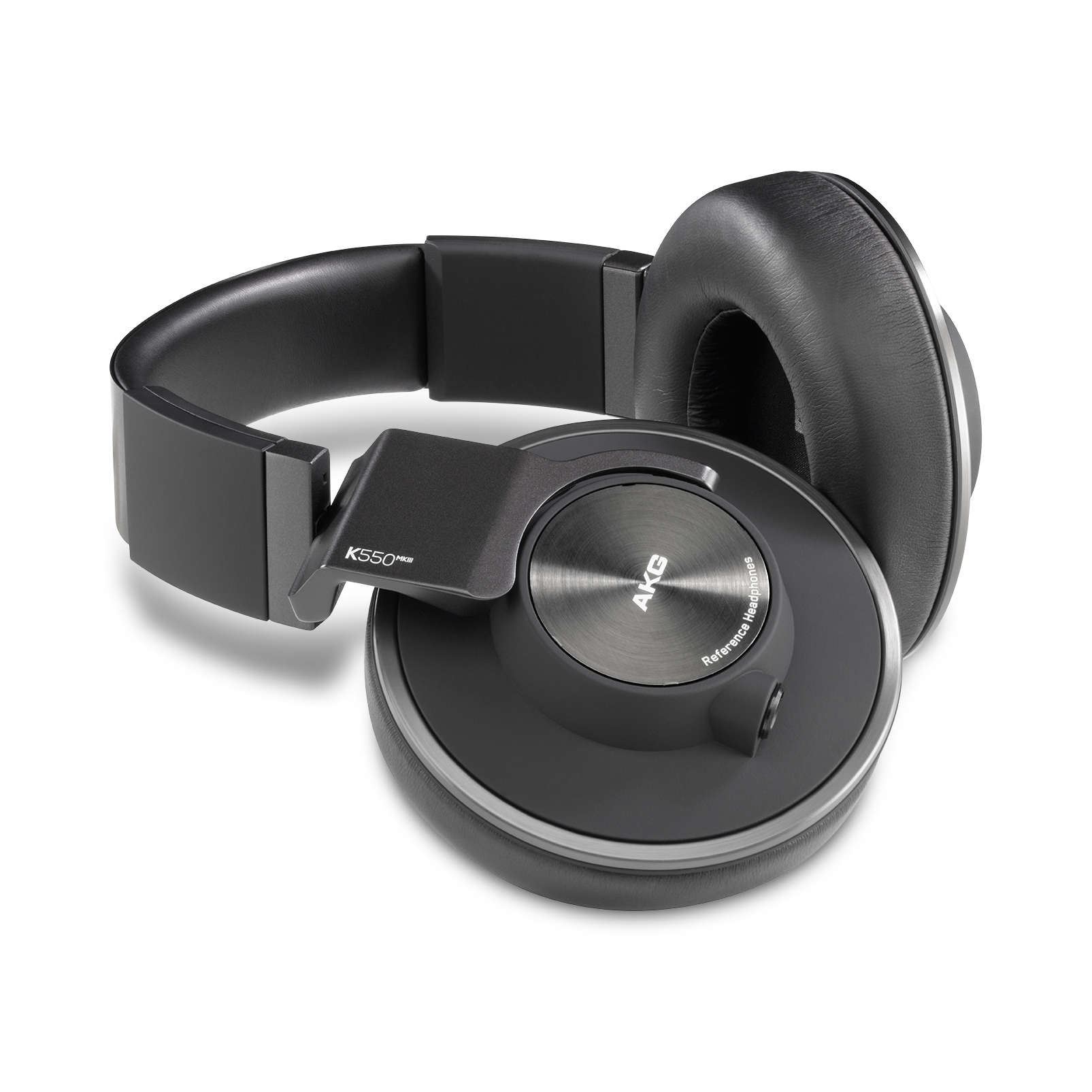 AKG K550 MKIII - Black - Closed-back reference over-ear headphones. - Hero